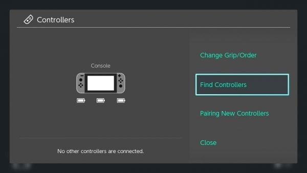 Find Controllers Nintendo Switch