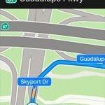 Maps Lane Guidance in iOS 11