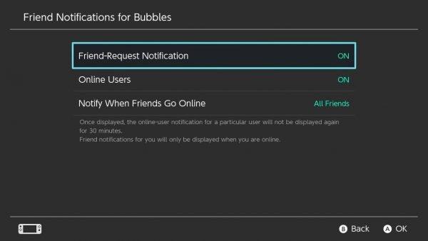 Notify when friends go online