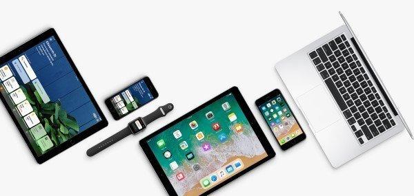 watchOS 4 macOS High Sierra tvOS 11