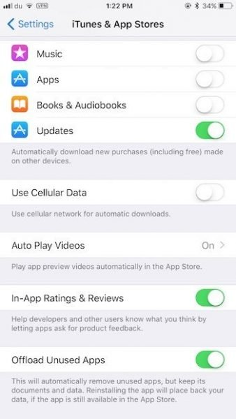 Autoplay App Store videos iOS 11