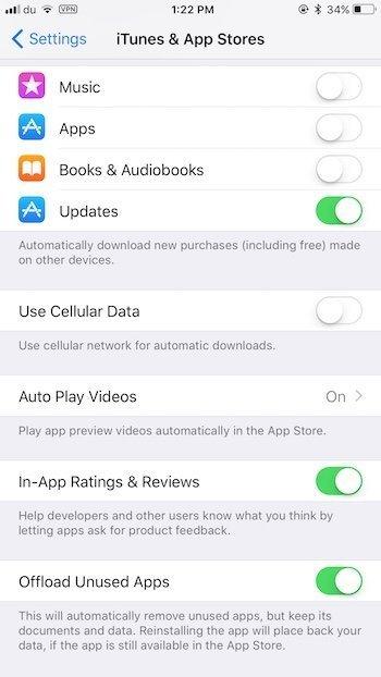 Autoplay App Store videos iOS 11