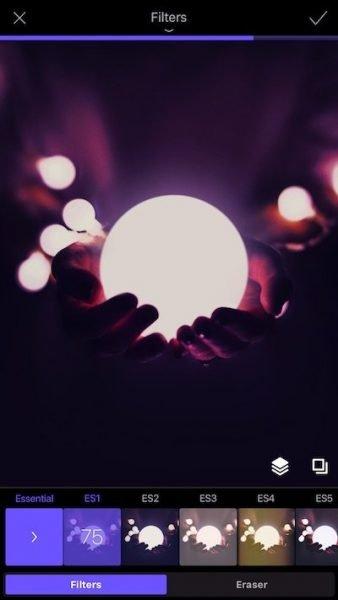Enlight Photofox filters