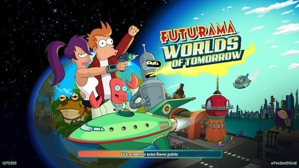 Futurama Worlds of Tomorrow Game 1