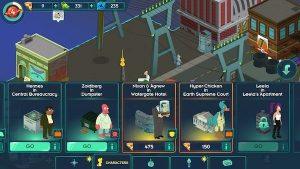 Futurama Worlds of Tomorrow Game 4