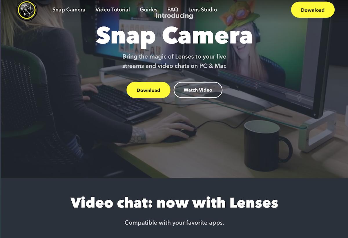 Snap camera 1