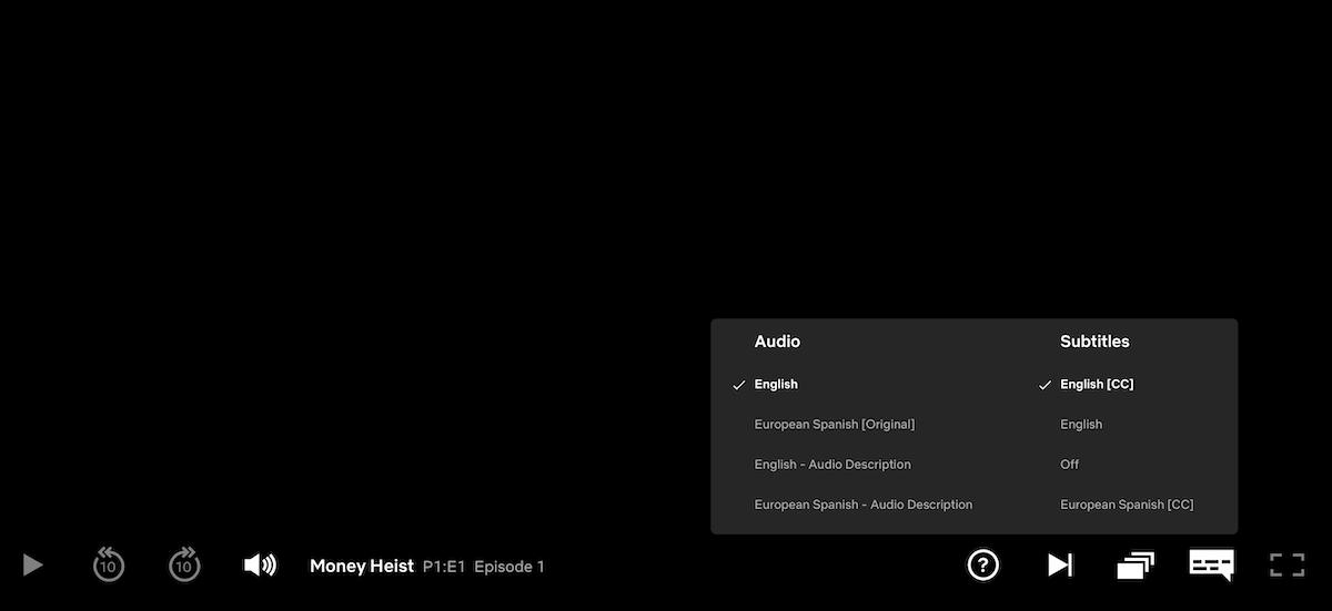 Netflix English