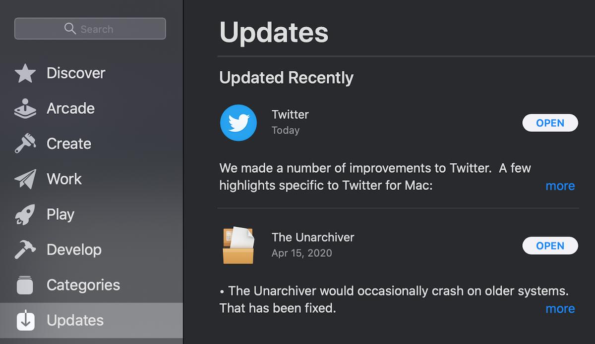 Twitter live stream update