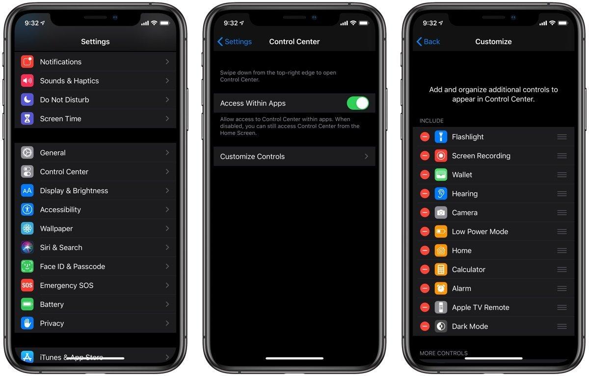 iOS-13-iPadOS-Dark-Mode-Control-Center