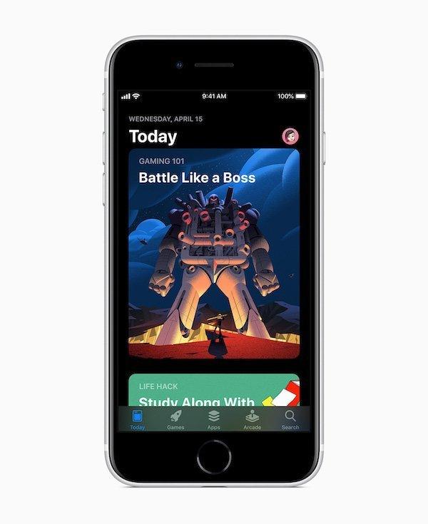iPhone SE App Store