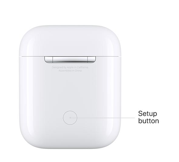 setup button