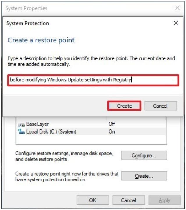 2.5 system restore