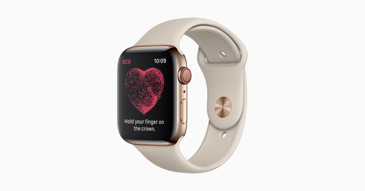 Enable ECG Apple Watch