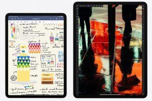Apple iPad Pro iMac bezels