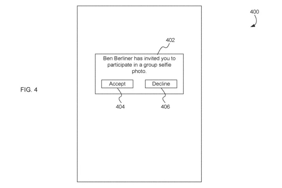 Apple patent group selfies 1
