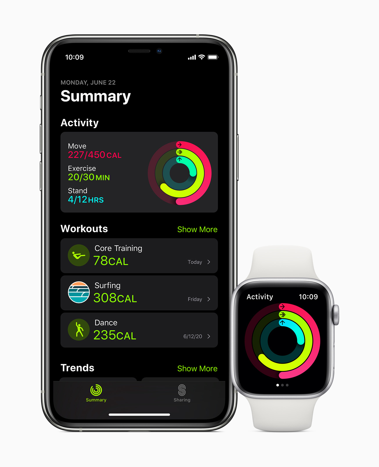 Apple watch watchos7 fittness app 06222020