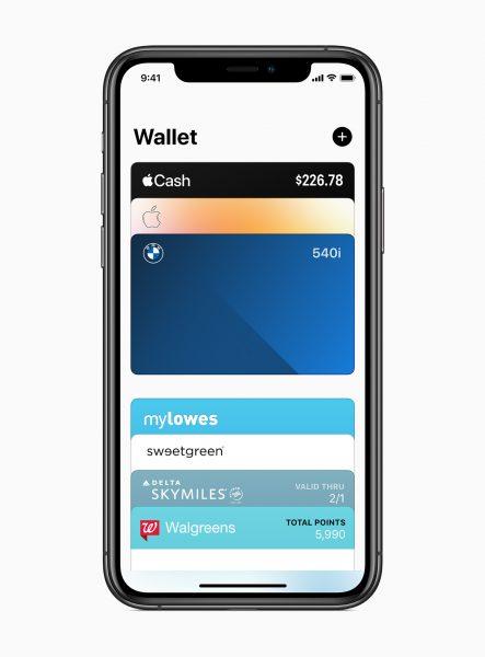 Приложение Apple Wallet для iOS 14.5 beta