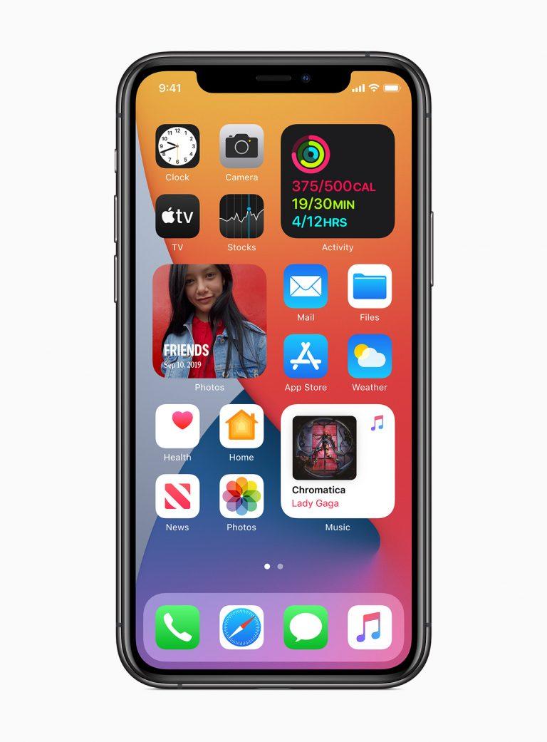 Apple ios14 widgets redesigned 06222020