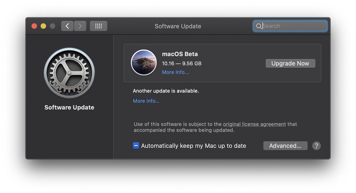 Download macOS Big Sur Beta 2