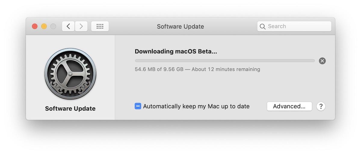 Download macOS Big Sur Beta