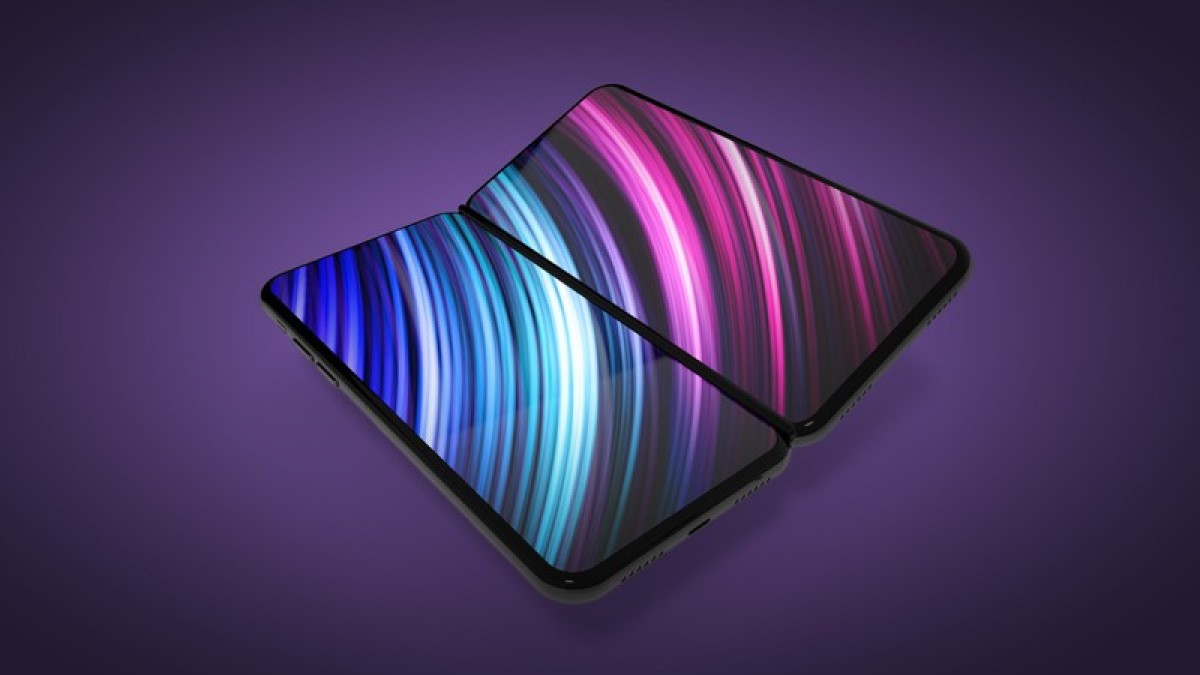 Foldable iPhone with hinge