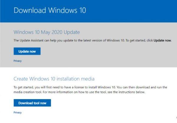 Windows Media Creation Tool 1
