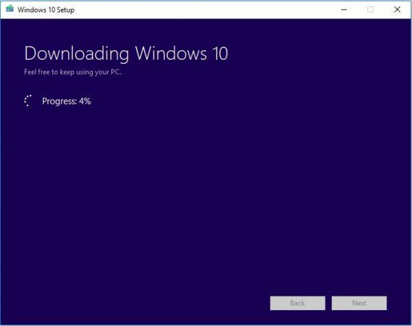 Windows Media Creation Tool 15