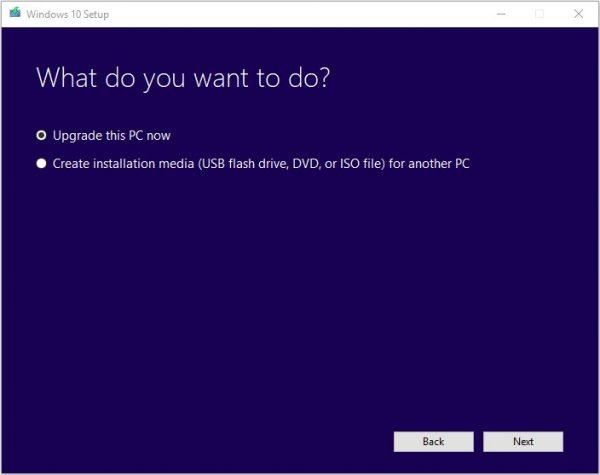 Windows Media Creation Tool 4