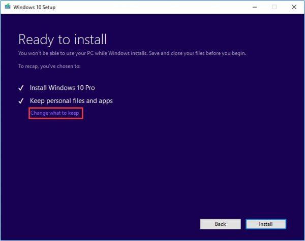 Windows Media Creation Tool 8