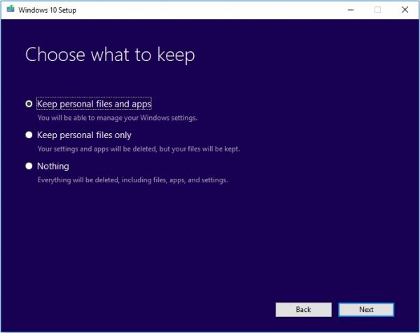 Windows Media Creation Tool 9