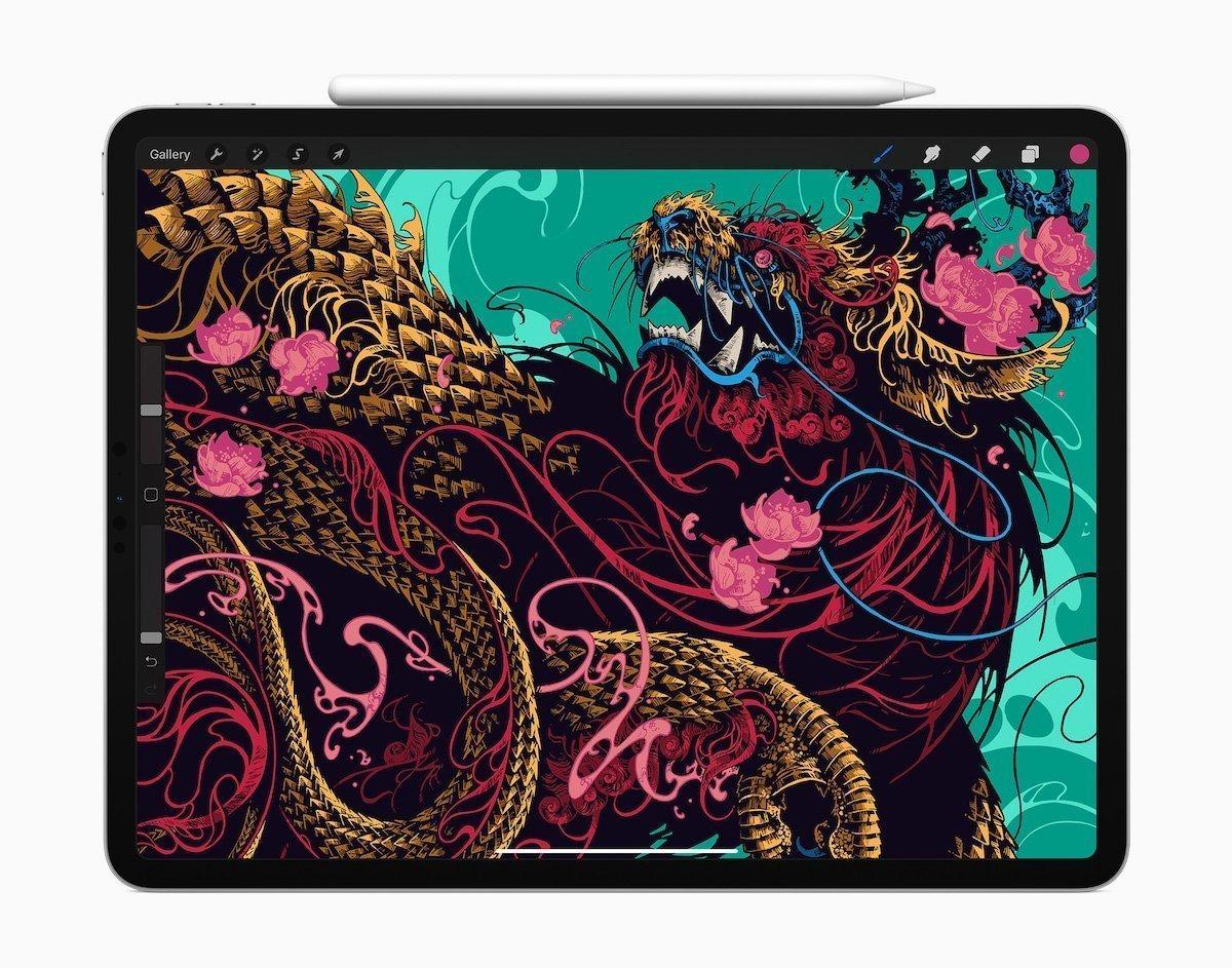 iPad MicroLED