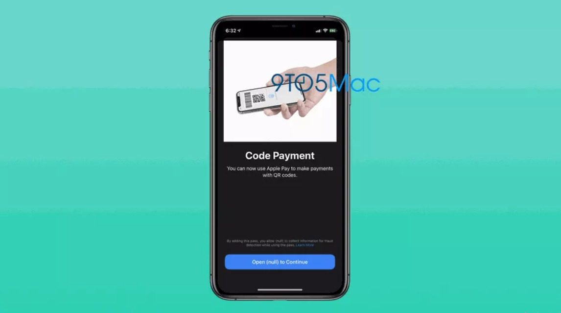 QR-code-payments-apple-pay-ios-beta-2