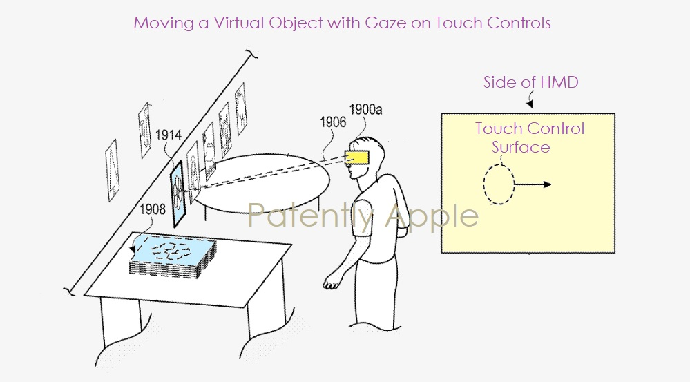 apple glasses eye control patent