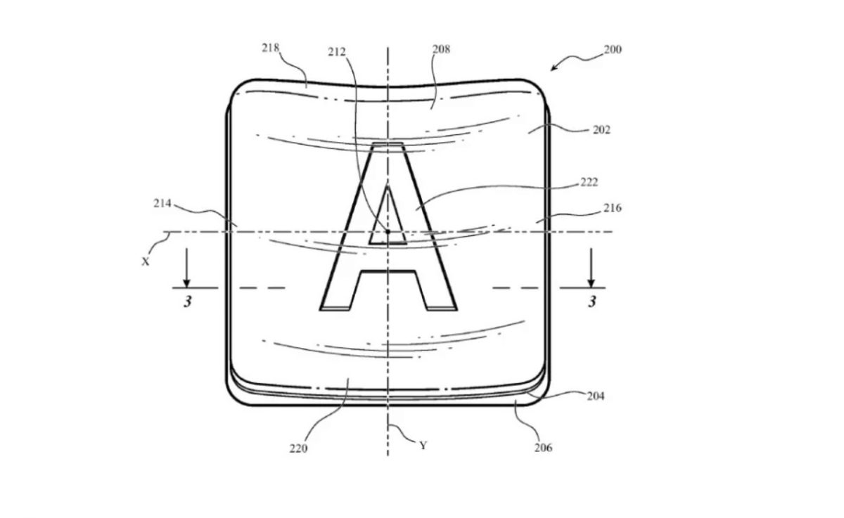 apple patent glass keycaps