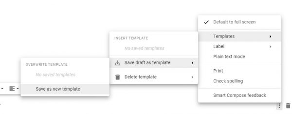 enable and use gmail templates 3