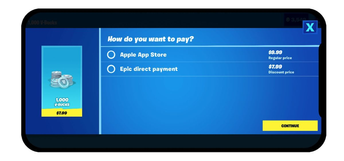 Epic Games vs Apple