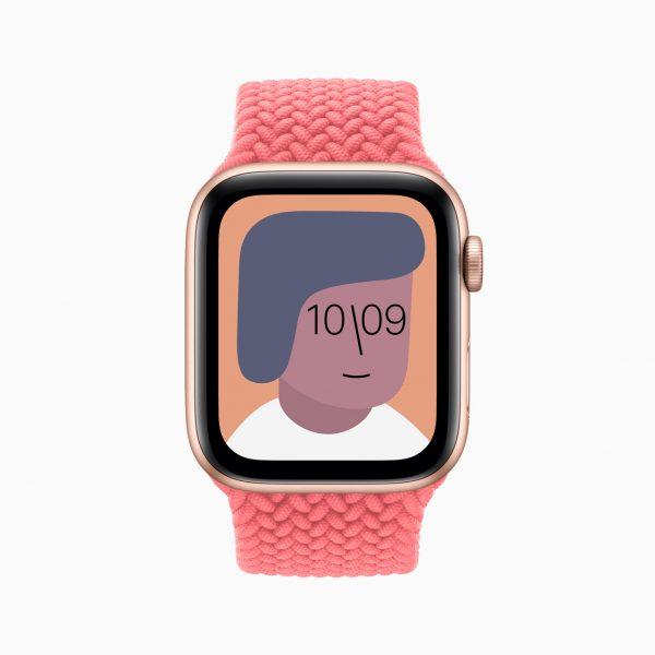 Apple watch se artist watch face 09152020