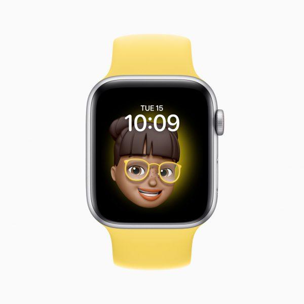 Apple watch se memoji watch face 09152020