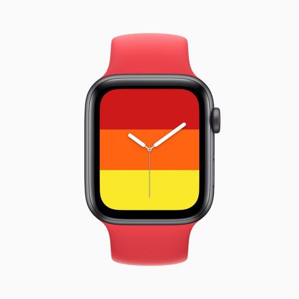 Apple watch se stripes watch face 09152020