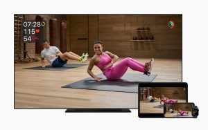 Fitness Plus Apple TV Watch iPhone iPad