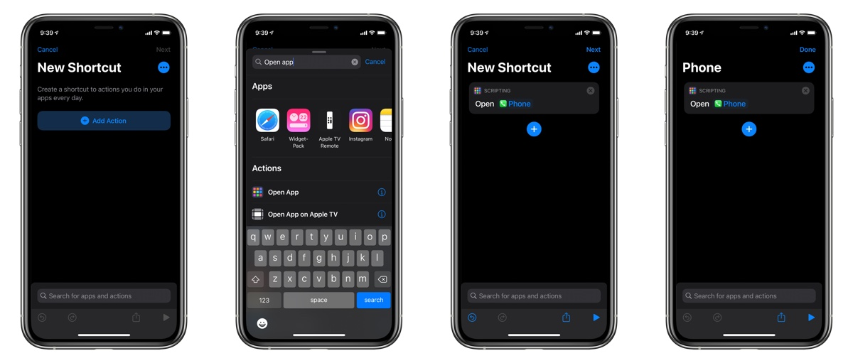iOS 14 Shortcuts