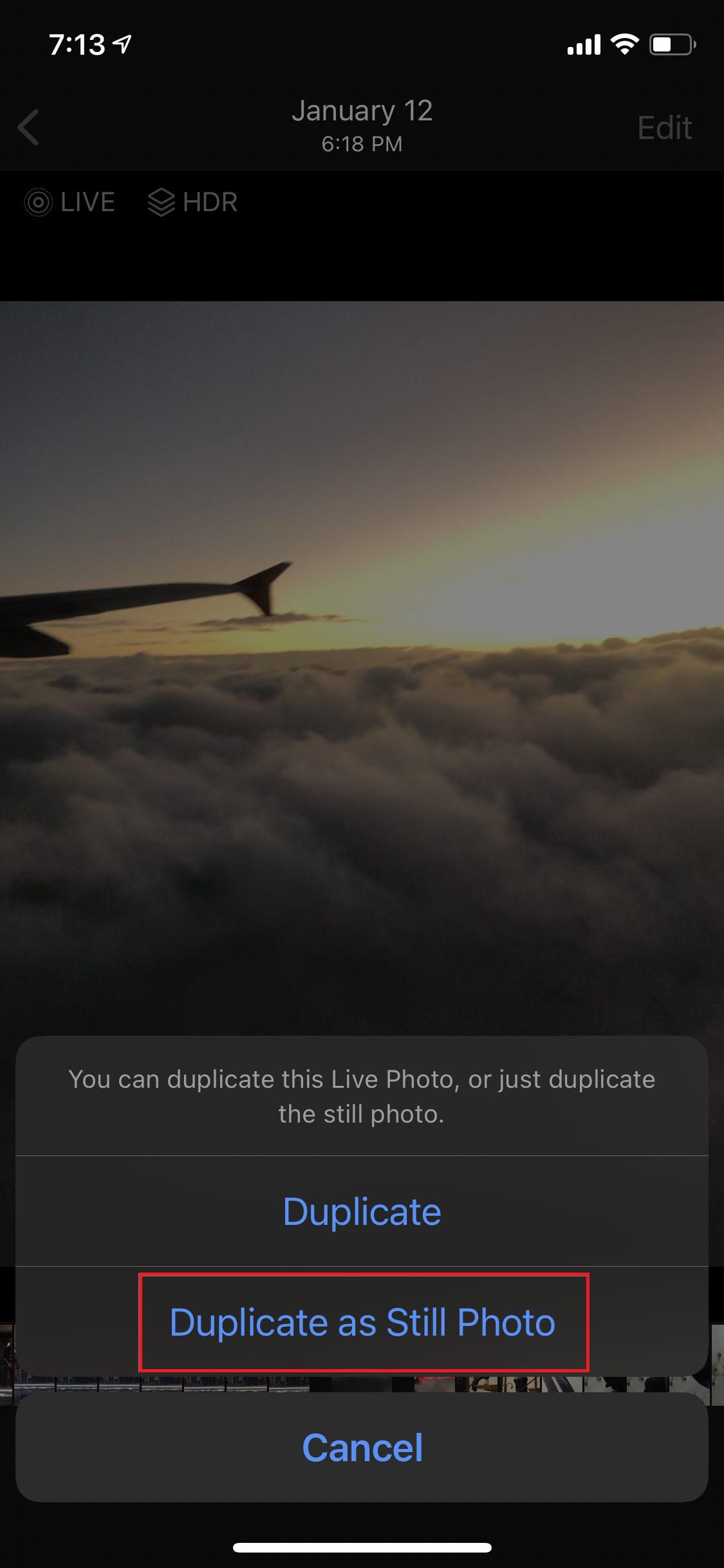 Live Photos iOS
