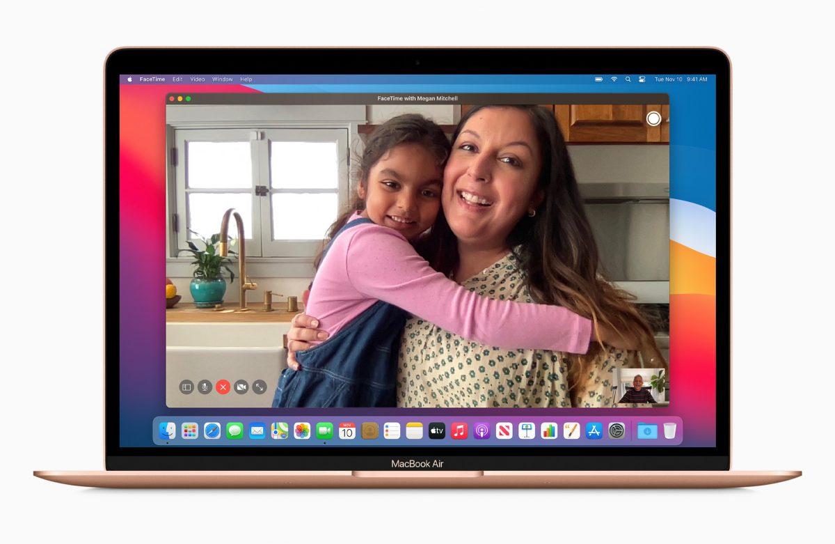 FaceTime M1 MacBook