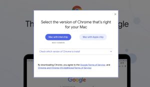 Chrome for Apple Silicon M1 Macs