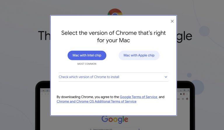 Chrome for Apple Silicon M1 Macs