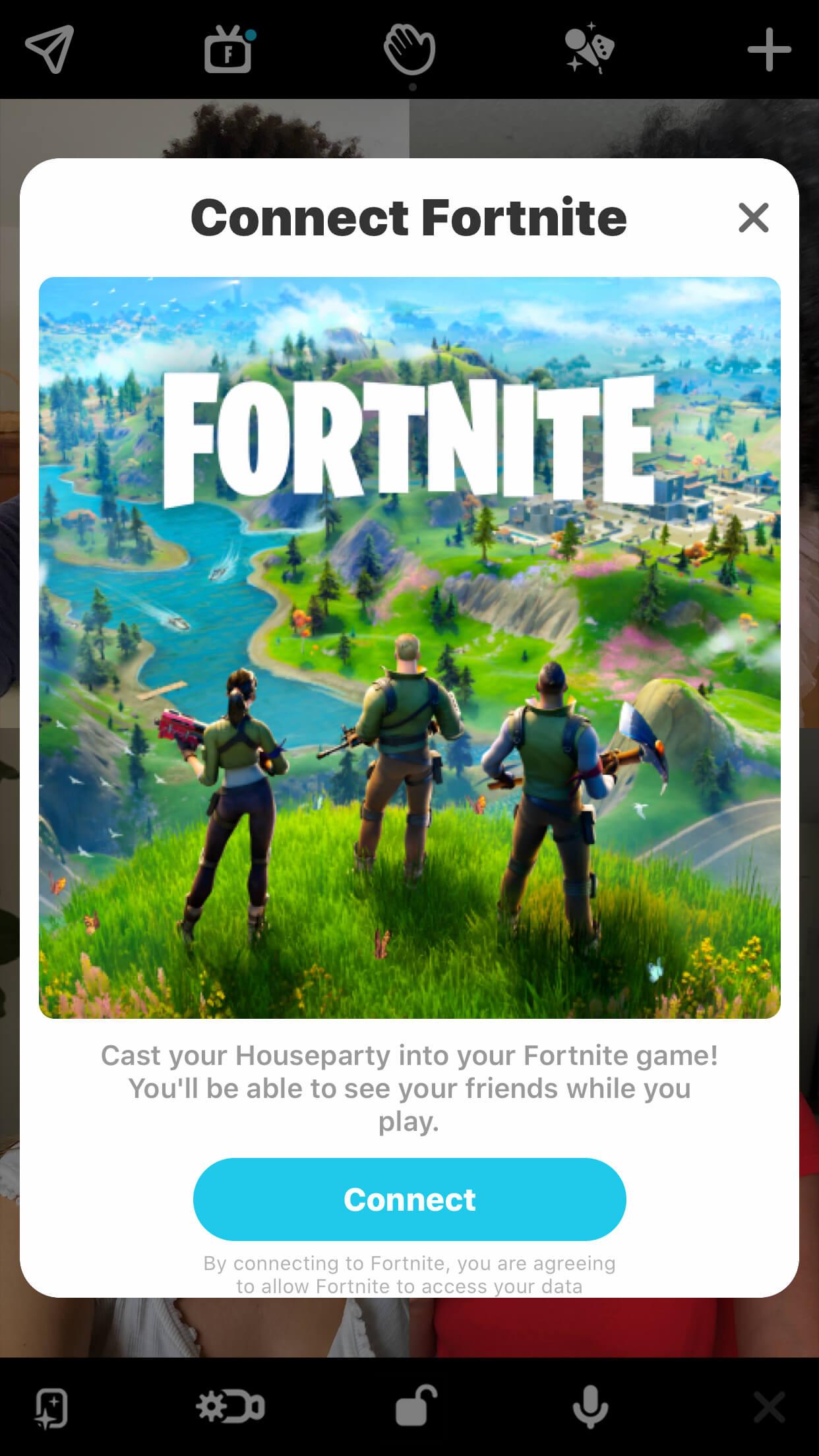 Fortnite x houseparty 3
