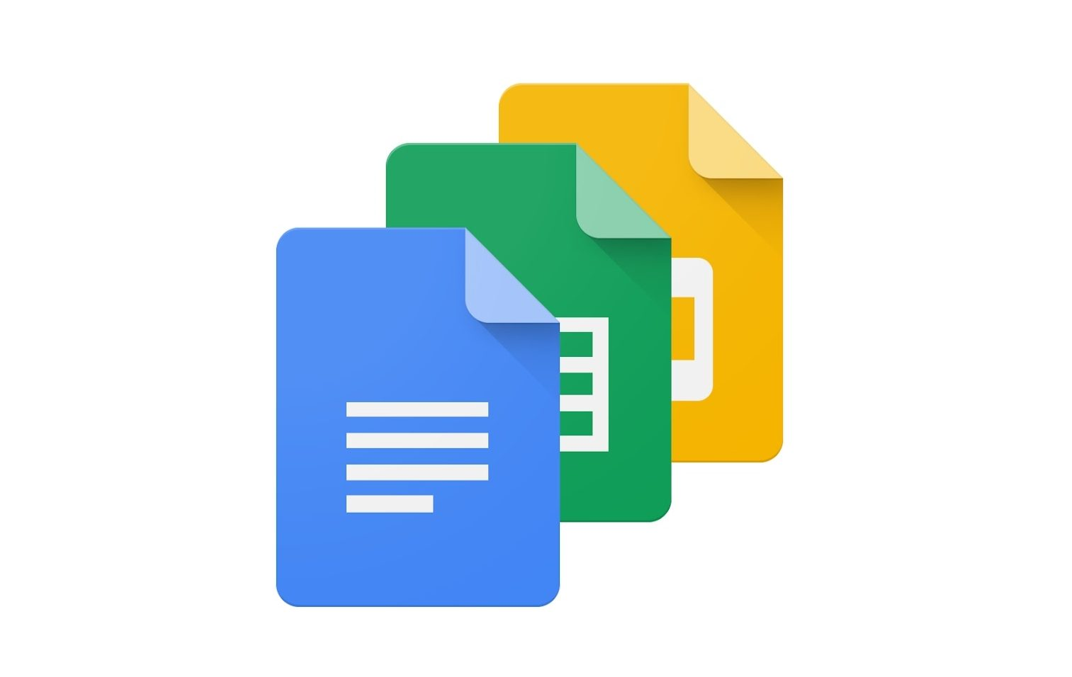 Google Docs, Sheets, Slides