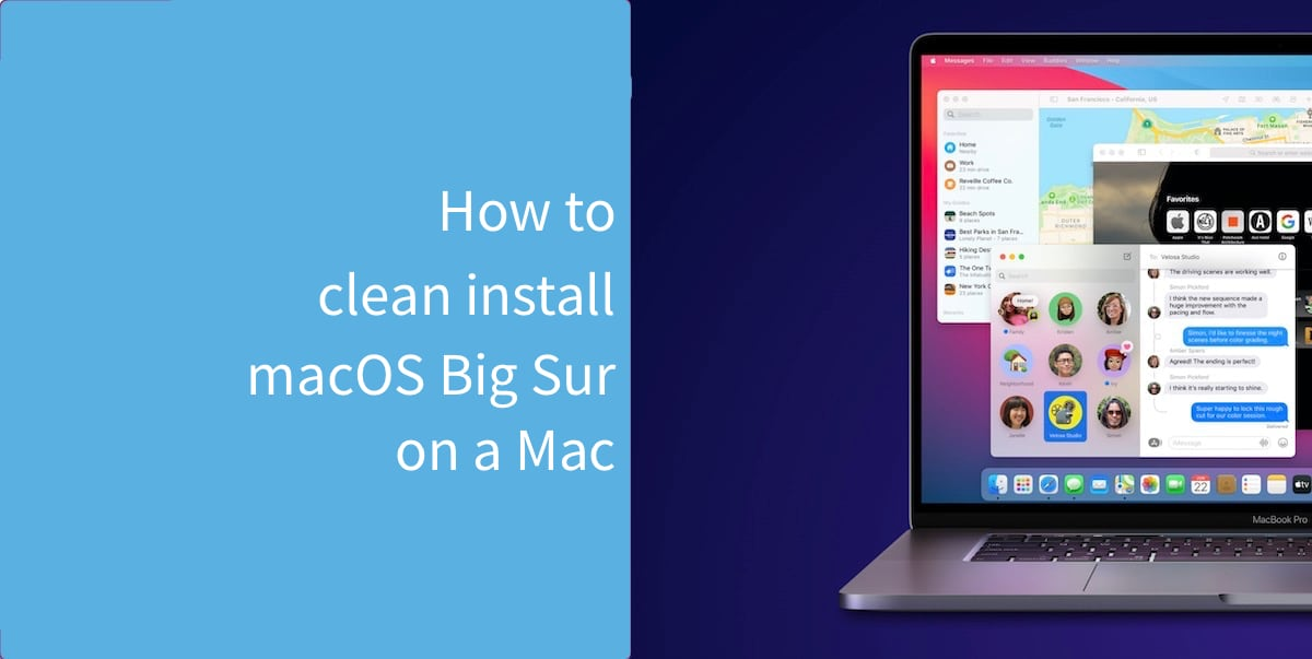 How to clean install macOS Big Sur on a Mac