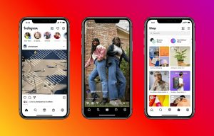 Instagram Home tabs Reel Shop