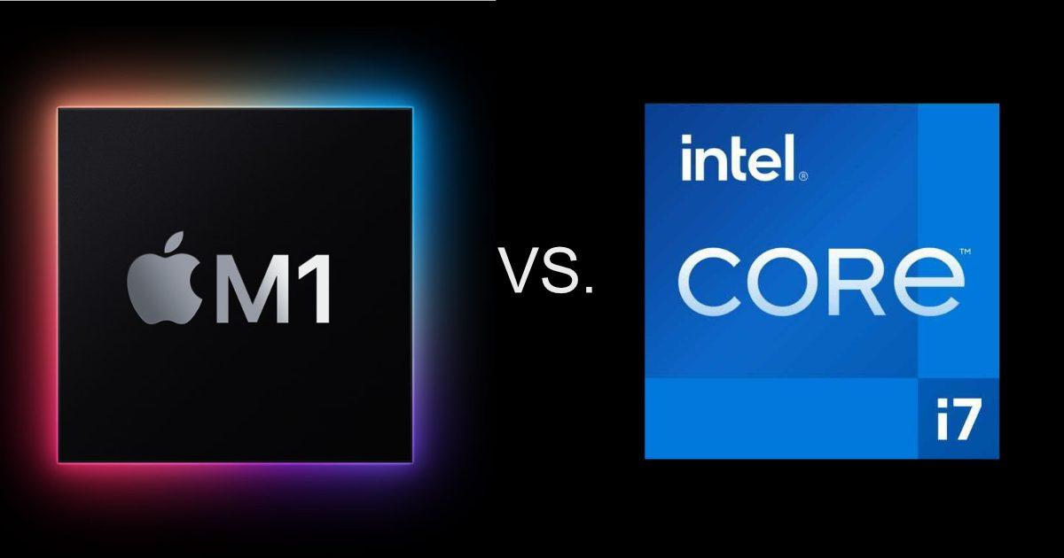 M1 vs. Intel i7